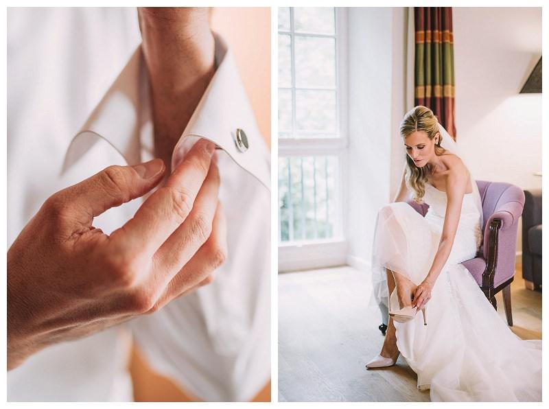 Getting Ready Brautpaar