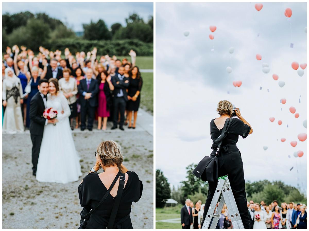Hochzeitsfotografin Stephanie Kunde fotografiert Hochzeitsgesellschaft