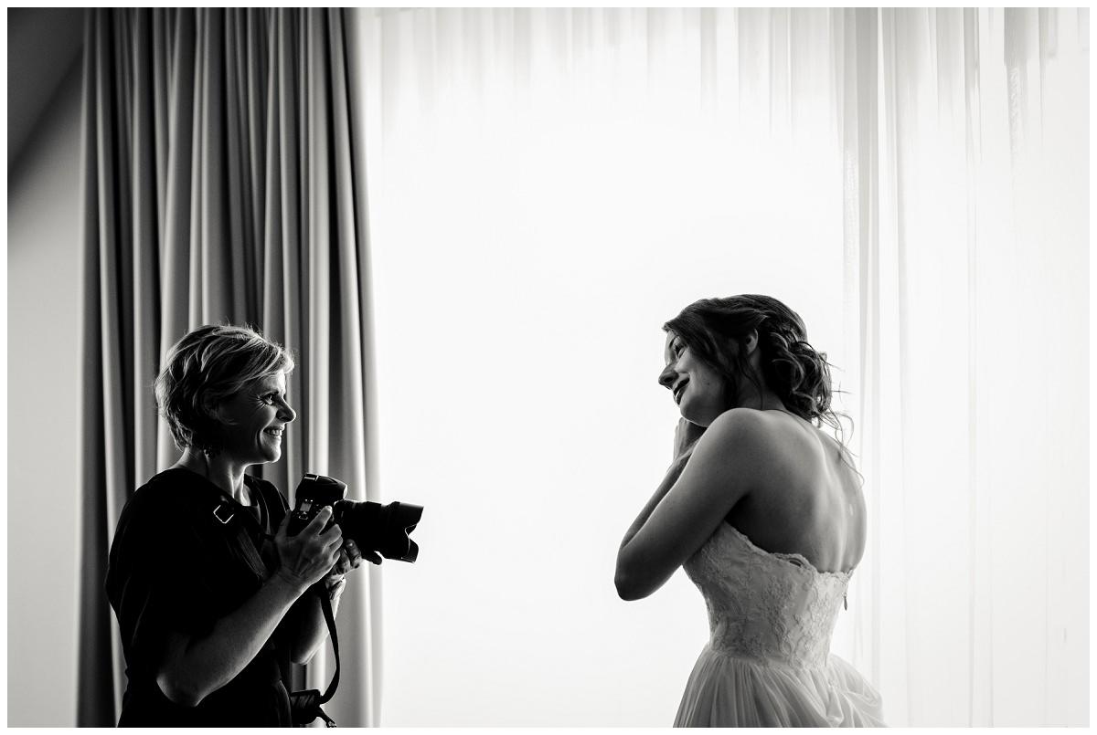 Hochzeitsfotografin Stephanie Kunde fotografiert Braut