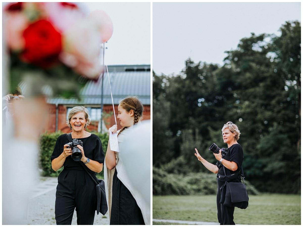 Hochzeitsfotografin fotografiert Hochzeitsreportage