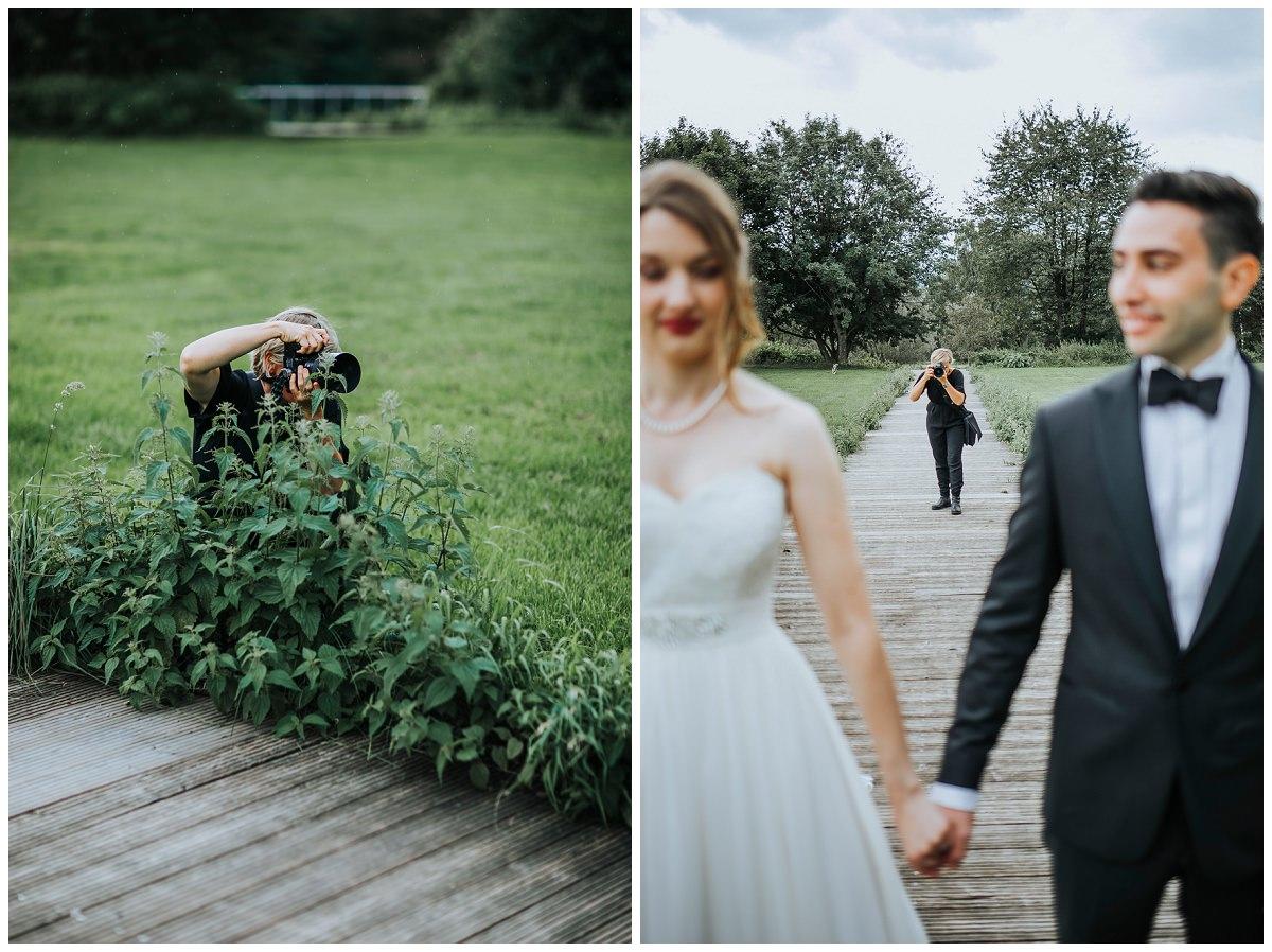 Hochzeitsfotografin Stephanie Kunde fotografiert Brautpaar